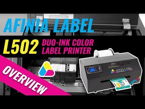 Digital Color Label Printer - Afinia Label L502