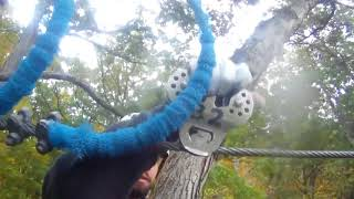 ZipZone Canopy Tours   Blackburn Recreation Center   October 23, 2016