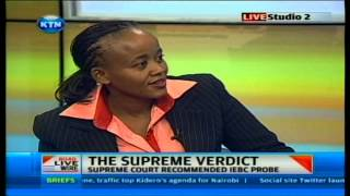 Kethi Kilonzo on Supreme court ruling on Live wire