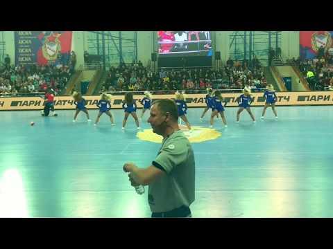 Группа поддержки ПГК ЦСКА Lucky Demons Черлидеры Cheerleaders
