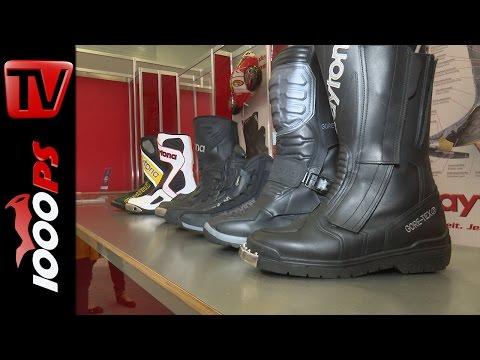 Daytona Motorrad Stiefel- Neue Modelle 2017