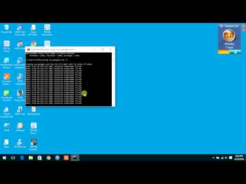 DIY How to run Ping Test, Packet loss short and continuous