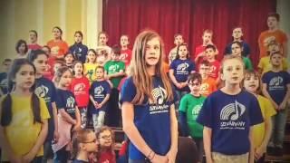 A Szivárvány Gyermekkar Budapesten