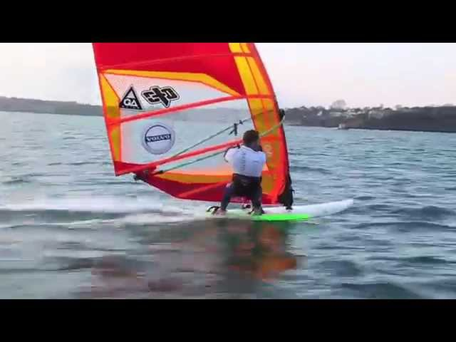 Team Volvo Tips : Windsurf Blasting with Nick Dempsey