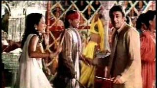 """""""Ghoonghat Mein Chand Hoga"""" Khoobsurat Ft. Sanjay Dutt"""