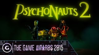 Psychonauts 2 Debut Trailer - The Game Awards 2015
