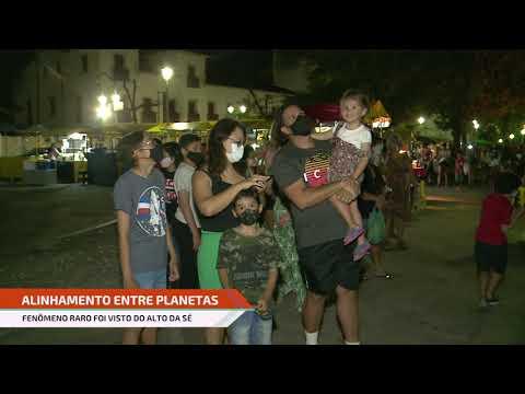 Estrela de Belém: público se reúne no Alto da Sé, em Olinda para observar fenômeno
