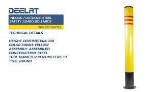 Indoor/Outdoor Steel Safety Jumbo Bollards