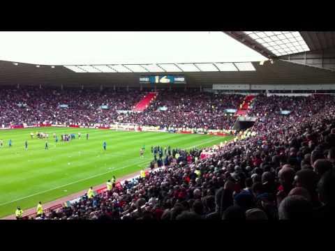 Reaction at SOL at news of Man City winning the Premiership 2011/12