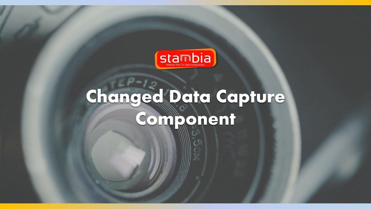 Composant CDC - Détectez les changements et modifications de vos données