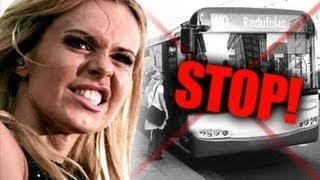 Kierowca nie chciał wpuścić Dody do autobusu