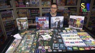 Genre im Fokus 10 - Vier thematische Spiele im Vergleich - Spiel doch mal...!