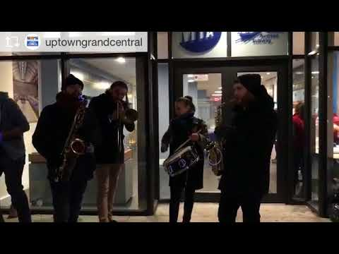 Second Line Christmas Jam with the MTA