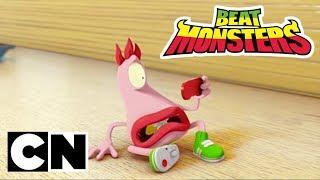 Gambar cover Beat Monsters | Low Battery | Cartoon Network