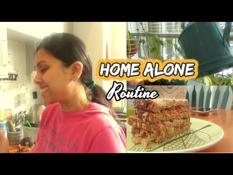 What I do when no one is at home II Home Alone Routine - Indian Mom Vlogger