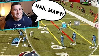 I ran hail mary every play to defeat a very angry trash talker!