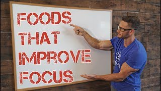 Top 5 Foods to Increase Focus & Boost Mood- Thomas DeLauer