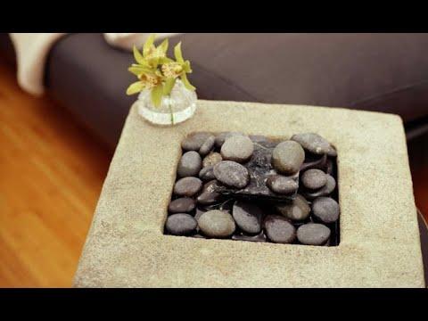 Fuentes de agua decorativas para el interior - Decogarden