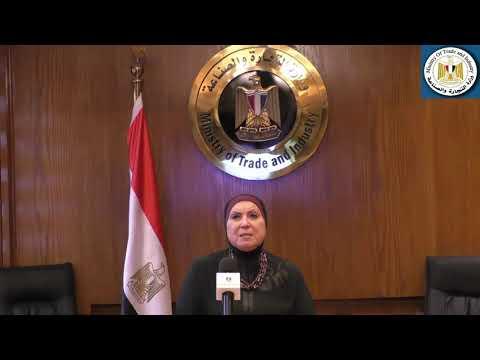 بالانابة عن فخامة رئيس الجمهورية   وزيرة التجارة والصناعة تلقى كلمة مصر أمام المؤتمر الافتراضى للقمة العالمية للصناعة والتصنيع