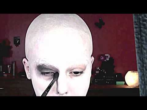 ADDAMS FAMILY UNCLE FESTER special fx makeup tutorial engl YouTube