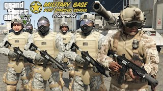 How To Join the ARMY in GTA 5! (Fort Zancudo School & Missions)