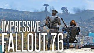 FALLOUT 76 IS SURPRISINGLY KINDA... IMPRESSIVE - Fallout 76 Beta Discussion