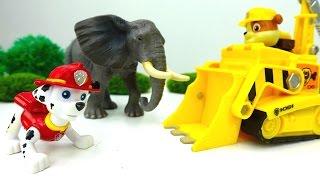 Мультик из игрушек: игрушки ЩЕНЯЧИЙ ПАТРУЛЬ! Paw Patrol и ЗООПАРК для животных! ☀️