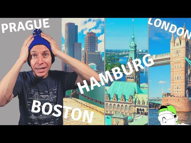 Marathon Races: London, Hamburg, Boston, Prague....