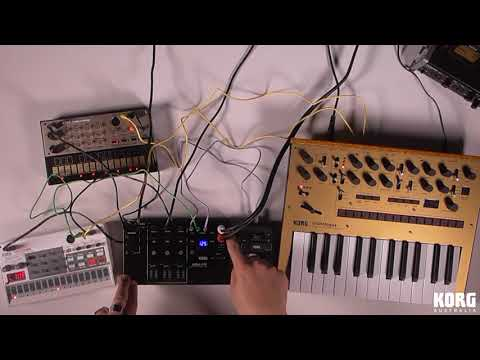 KORG Volca Mix: First Look & Performance