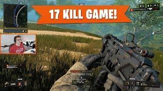 17 KILL GAME w/ GX9!   Black Ops 4 Blackout   PS4 Pro