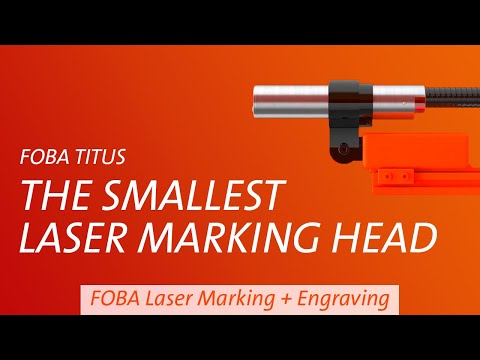 FOBA Titus™ - The world's smallest laser!