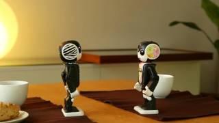【ロボ会話】ロボホン、連絡先を交換する