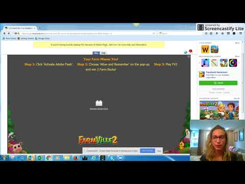 How do I enable Flash Player on my browser? — FarmVille 2