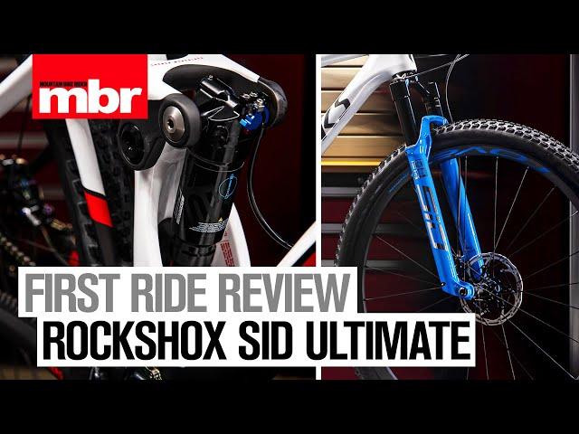 "Видео Вилка RockShox SID Ultimate Race Day Remote 29"", Boost 15X110mm, 120mm, DebonAir черная"