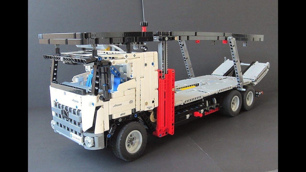 Lego Technic Car Transporter! 42043 C model