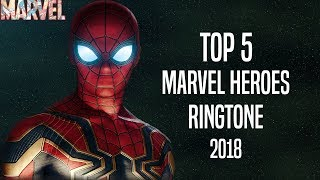 Top 5 Marvel Heroes Ringtone 2018 |Download Now|
