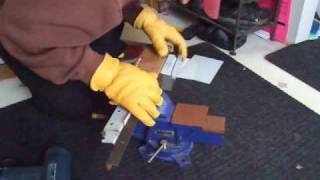 Polycarbonate Bending with Heat Gun