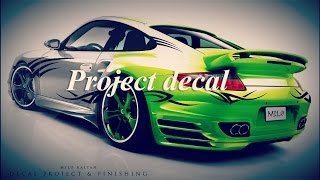Project Decal & Finishing. Car Design   MILO