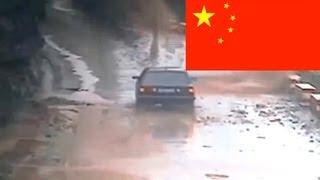 Самый страшный оползень в Китае - Видео онлайн