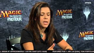 Pro Tour Khans of Tarkir Organized Play Announcement with Helene Bergeot