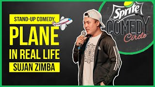 Plane in Real Life   Stand-up Comedy by Sujan Zimba