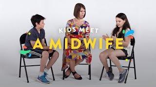 Kids Meet a Midwife | Kids Meet | HiHo Kids