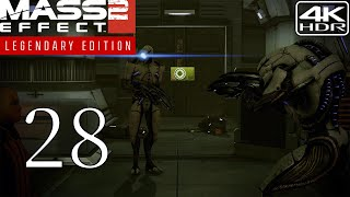 Mass Effect 2  Walkthrough Gameplay and Mods pt28  Imminent Ship Crash 4K 60FPS HDR Insanity