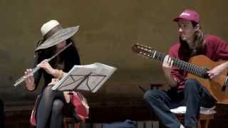 preview picture of video 'Choro de Rua playing Saudoso Cavaquinho in Pienza (Italy)'