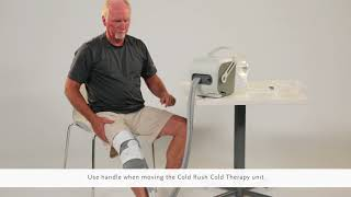 Video: Ossur Cold Rush Cold Therapy System