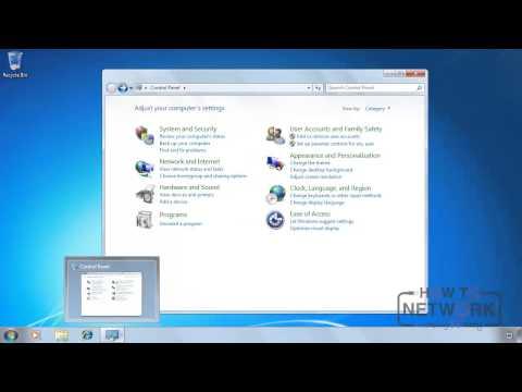 Microsoft MTA 98-349 - The Control Panel - YouTube