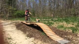Fun Features on Basic Training Skills Trail