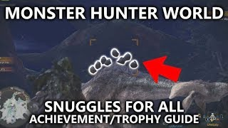 Monster Hunter World - Snuggles For All Achievement/Trophy Guide - Capture the Downy Crake Bird