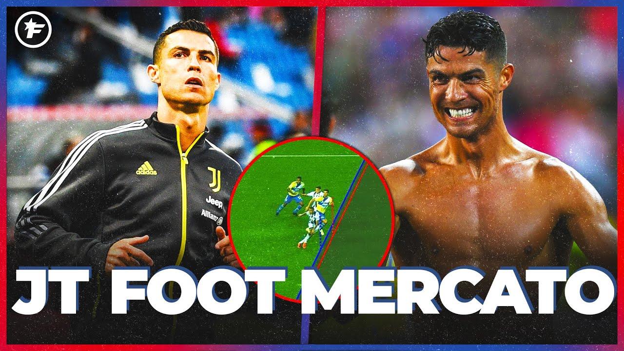 Le DRÔLE de week-end de Cristiano Ronaldo   JT Foot Mercato