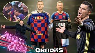 ¿Qué pasará con KUBO? Por esto el ARSENAL renovó a David Luiz. 'Sorpresa' para Messi y Suárez en el entrenamiento. Esto y más ¡AQUÍ! Suscríbete gratis a CRACKS: https://goo.gl/aK8cDH  ¡Síguenos en las redes!   ►TWITCH: https://www.twitch.tv/cracks_t ►TIKTOK: https://www.tiktok.com/@crackstok ►Twitter: https://twitter.com/cracks_oficial ►Facebook: https://goo.gl/s1Oene ►Instagram: https://www.instagram.com/cracks_ig/?hl=es  ►Lo mejor del FÚTBOL MEXICANO en CRACKS MX: https://goo.gl/iFXBQv  ►CRACKS COLOMBIA: https://bit.ly/2MGJOV0  ►CRACKS ARGENTINA: https://bit.ly/2YiBU5C  ► Suscríbete a nuestro canal de FIFA, EA CACHO: https://bit.ly/31txwTj